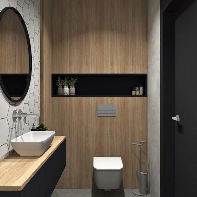 Dom w Zawadzie - łazienka 1