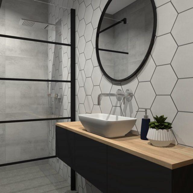 Dom w Zawadzie - łazienka 3