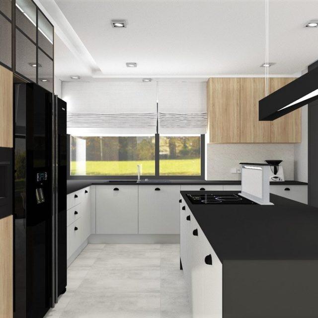 Dom w Zawadzie - kuchnia 3